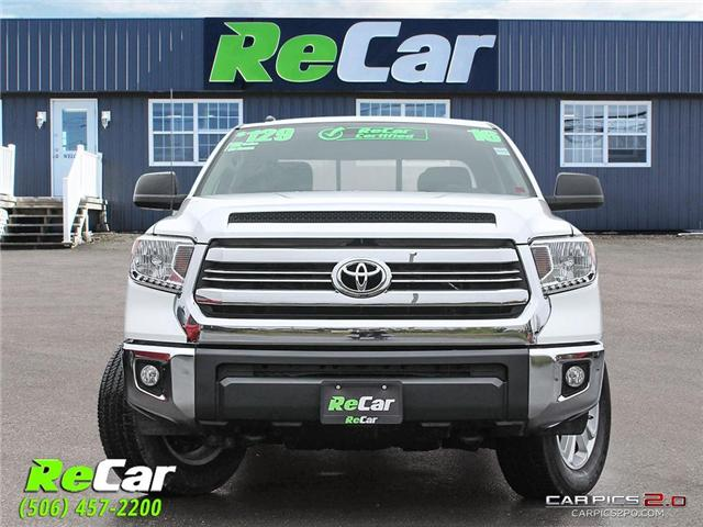 2016 Toyota Tundra SR5 5.7L V8 (Stk: 181084A) in Fredericton - Image 2 of 26