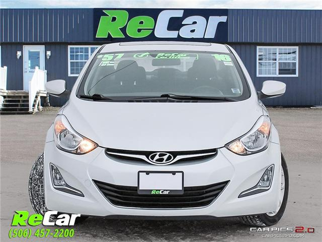 2016 Hyundai Elantra Sport Appearance (Stk: 190118A) in Fredericton - Image 2 of 24