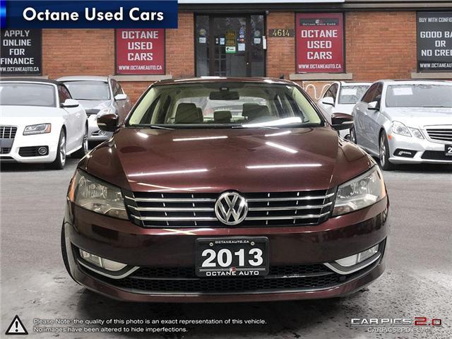 2013 Volkswagen Passat 2.0 TDI Comfortline (Stk: ) in Scarborough - Image 2 of 23