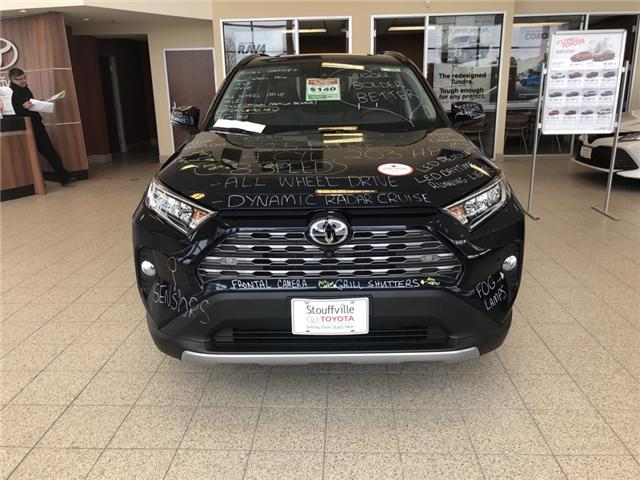 2019 Toyota RAV4 Limited (Stk: 190280) in Whitchurch-Stouffville - Image 1 of 6