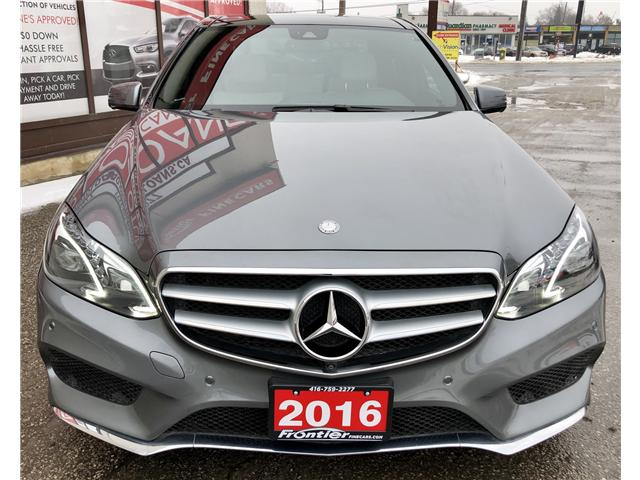 2016 Mercedes-Benz E-Class Base (Stk: 293913) in Toronto - Image 2 of 17