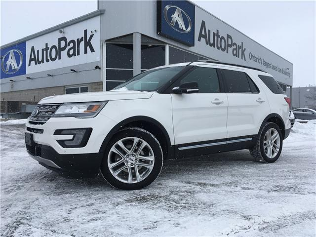 2016 Ford Explorer XLT (Stk: 16-67172MB) in Barrie - Image 1 of 30