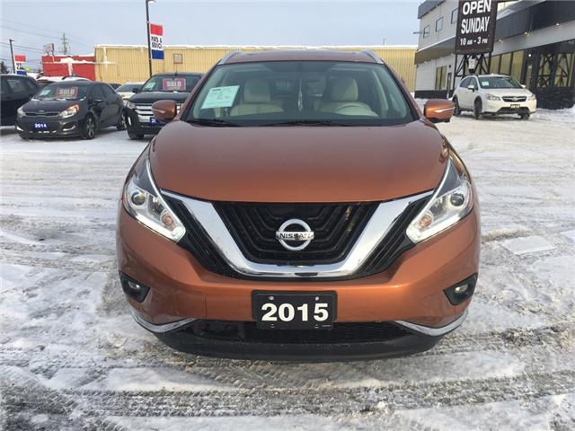 2015 Nissan Murano Platinum (Stk: 18522) in Sudbury - Image 2 of 19