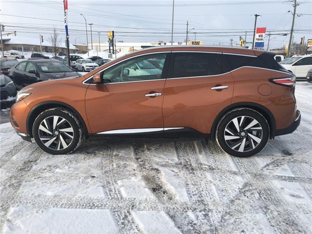 2015 Nissan Murano Platinum (Stk: 18522) in Sudbury - Image 4 of 19