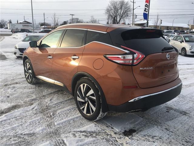 2015 Nissan Murano Platinum (Stk: 18522) in Sudbury - Image 5 of 19