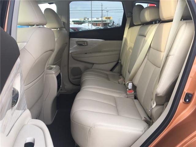 2015 Nissan Murano Platinum (Stk: 18522) in Sudbury - Image 10 of 19