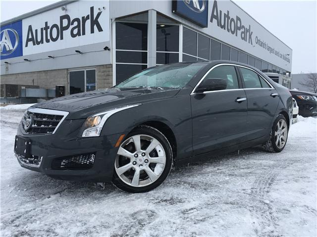 2014 Cadillac ATS 2.0L Turbo (Stk: 14-75219JB) in Barrie - Image 1 of 28