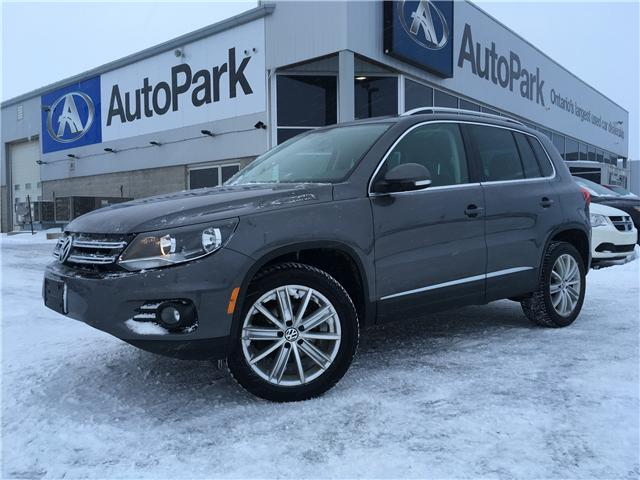 2016 Volkswagen Tiguan Highline (Stk: 16-54551MB) in Barrie - Image 1 of 29