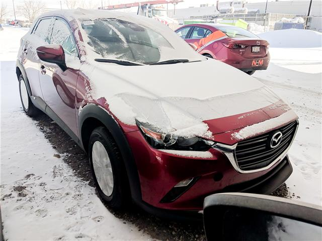 2019 Mazda CX-3 GS (Stk: H1604) in Calgary - Image 1 of 1