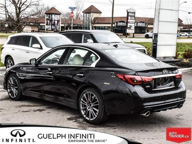 2019 Infiniti Q50 3.0t Red Sport 400 (Stk: I6860) in Guelph - Image 5 of 24