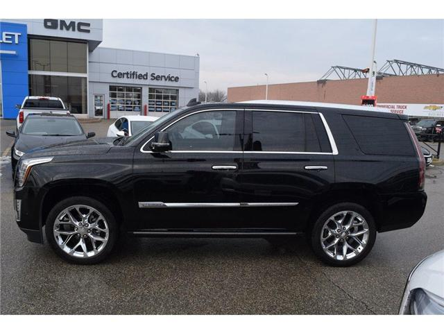 2017 Cadillac Escalade Premium Luxury/SUNRF/HTD&CLD STS/SURND CAMRA/HUD (Stk: 203378A) in Milton - Image 4 of 24