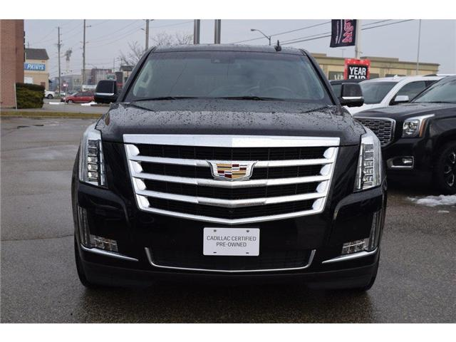 2017 Cadillac Escalade Premium Luxury/SUNRF/HTD&CLD STS/SURND CAMRA/HUD (Stk: 203378A) in Milton - Image 9 of 24