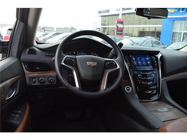 2017 Cadillac Escalade Premium Luxury/SUNRF/HTD&CLD STS/SURND CAMRA/HUD (Stk: 203378A) in Milton - Image 10 of 24