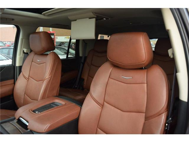 2017 Cadillac Escalade Premium Luxury/SUNRF/HTD&CLD STS/SURND CAMRA/HUD (Stk: 203378A) in Milton - Image 11 of 24