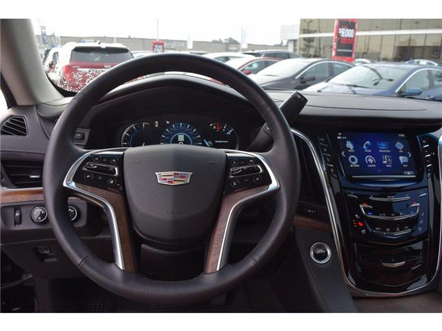2017 Cadillac Escalade Premium Luxury/SUNRF/HTD&CLD STS/SURND CAMRA/HUD (Stk: 203378A) in Milton - Image 14 of 24