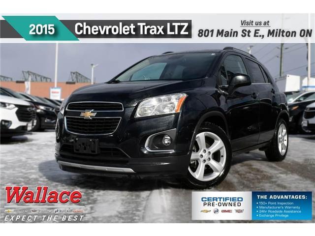 2015 Chevrolet Trax LTZ/SUNRF/HTD SEATS/BOSE/REAR CAMRA/REMOT STRT (Stk: PL5187) in Milton - Image 1 of 3