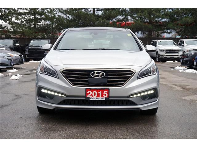 2015 Hyundai Sonata SPORT  2.0T ULTIMATE  FULLY LOADED  ONLY 18K (Stk: P3152) in Burlington - Image 2 of 30