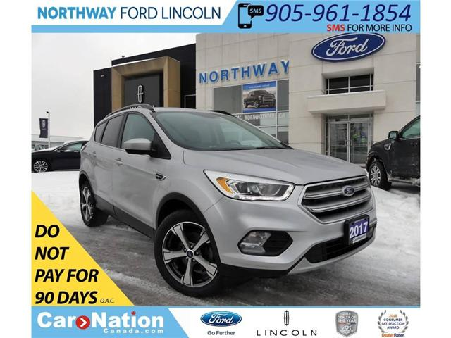 2017 Ford Escape SE | NAV | PANOROOF | HTD LEATHER | (Stk: P5099) in Brantford - Image 1 of 30