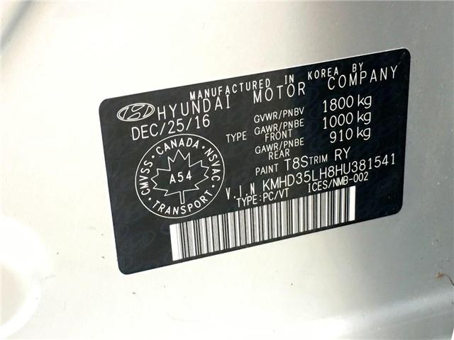 2017 Hyundai Elantra GT SE (Stk: H4538A) in Toronto - Image 28 of 28