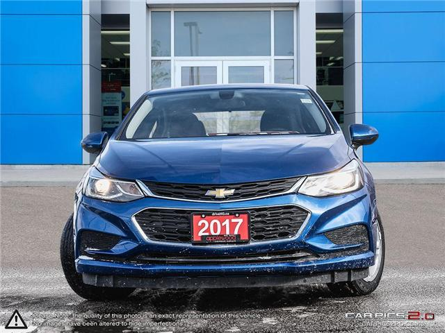 2017 Chevrolet Cruze LT Auto (Stk: 9412P) in Mississauga - Image 2 of 27