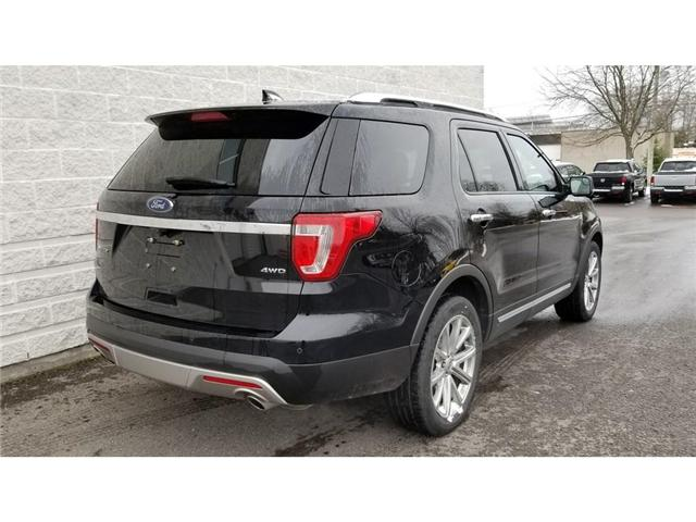 2017 Ford Explorer Limited (Stk: 18P178) in Kingston - Image 6 of 30