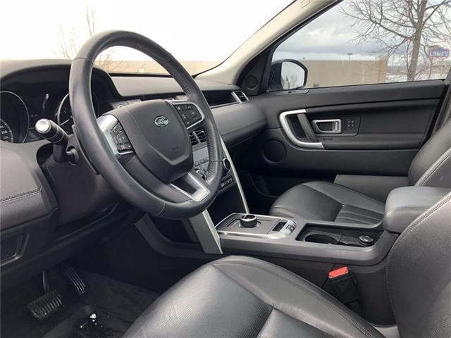 2017 Land Rover Discovery Sport HSE (Stk: P1386-1) in Barrie - Image 11 of 18
