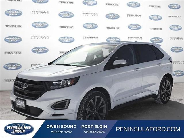 2018 Ford Edge Sport (Stk: 1680) in Owen Sound - Image 1 of 24