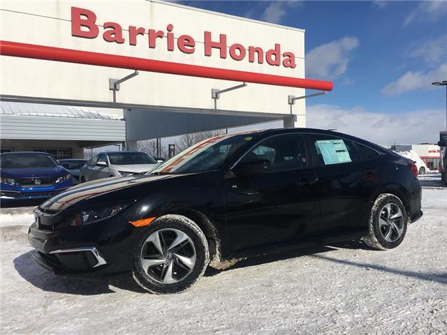 2019 Honda Civic LX (Stk: 19604) in Barrie - Image 1 of 12