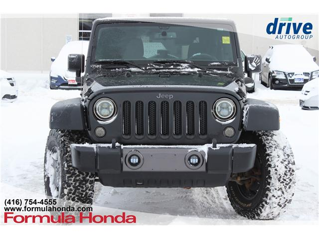 2016 Jeep Wrangler Unlimited Sport (Stk: 19-0790A) in Scarborough - Image 2 of 15