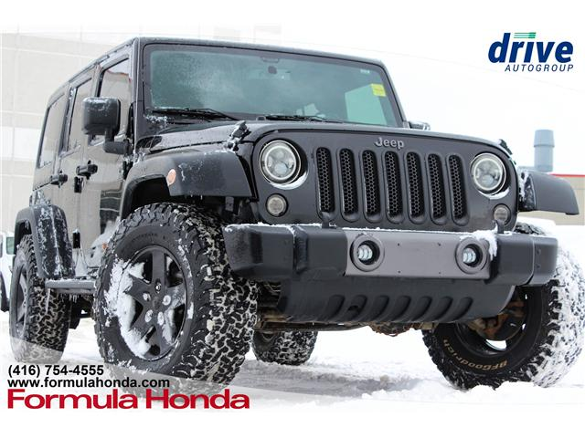 2016 Jeep Wrangler Unlimited Sport (Stk: 19-0790A) in Scarborough - Image 1 of 15