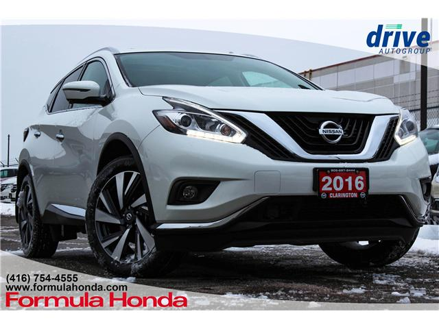 2016 Nissan Murano Platinum (Stk: B10955) in Scarborough - Image 1 of 26