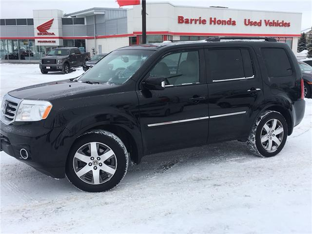 2015 Honda Pilot Touring (Stk: U15465) in Barrie - Image 1 of 15