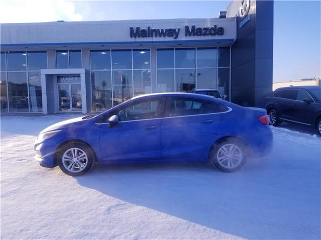 2016 Chevrolet Cruze LT Auto (Stk: M18363A) in Saskatoon - Image 1 of 21
