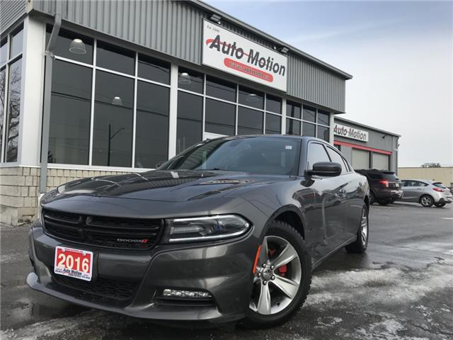 2016 Dodge Charger SXT (Stk: 1991) in Chatham - Image 1 of 24