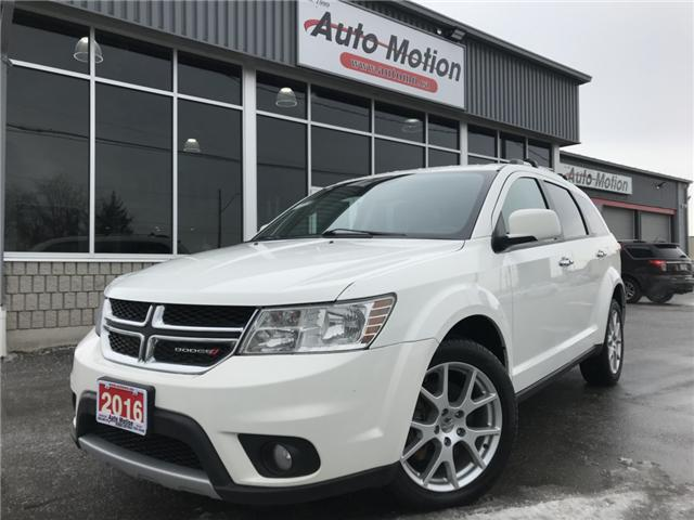 2016 Dodge Journey R/T (Stk: 19129) in Chatham - Image 1 of 24