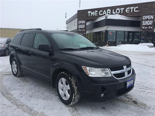 2010 Dodge Journey SXT (Stk: 18661-1) in Sudbury - Image 1 of 4