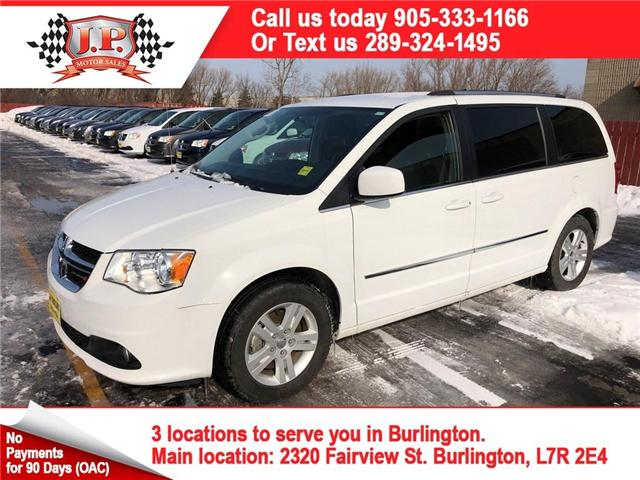 2017 Dodge Grand Caravan Crew (Stk: 45636r) in Burlington - Image 1 of 24