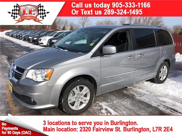 2017 Dodge Grand Caravan Crew (Stk: 45637r) in Burlington - Image 1 of 24