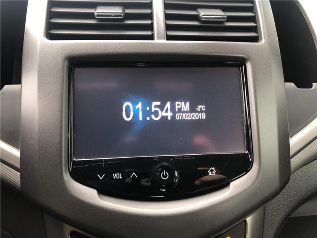 2015 Chevrolet Sonic LT|Sunroof|Remote Start|Heated Seats|Rear cam| (Stk: PL17822) in BRAMPTON - Image 12 of 15