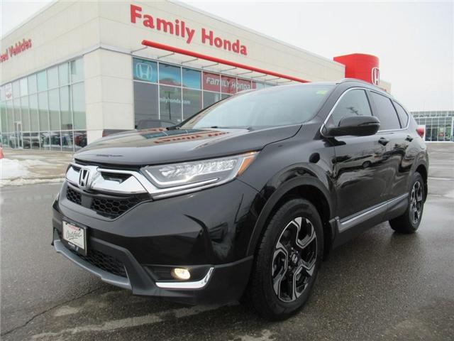 2018 Honda CR-V Touring AWD, HONDA CERTIFIED! (Stk: 9302220A) in Brampton - Image 1 of 27