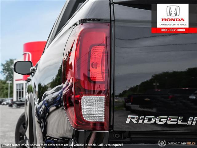 2019 Honda Ridgeline Black Edition (Stk: 19487) in Cambridge - Image 11 of 23