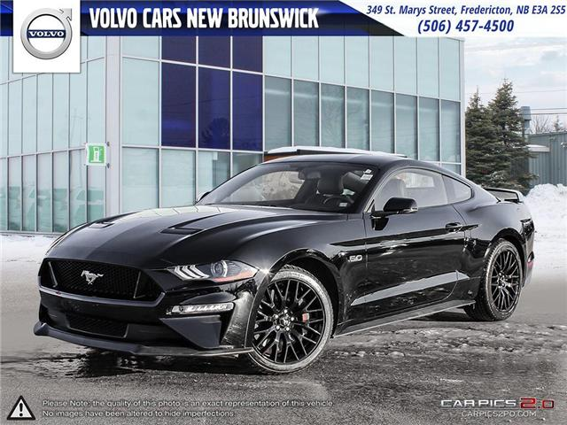 2018 Ford Mustang GT Premium (Stk: V190136A) in Fredericton - Image 1 of 25