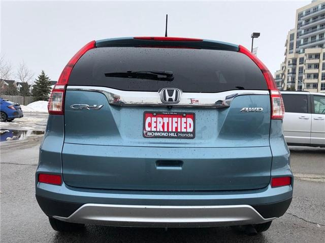 2015 Honda CR-V EX-L (Stk: 2071P) in Richmond Hill - Image 17 of 19