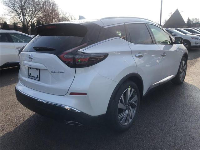 2019 Nissan Murano  (Stk: MU19002) in St. Catharines - Image 4 of 5