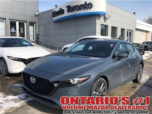 2019 Mazda Mazda3 Sport - (Stk: NEW81498) in Toronto - Image 1 of 27