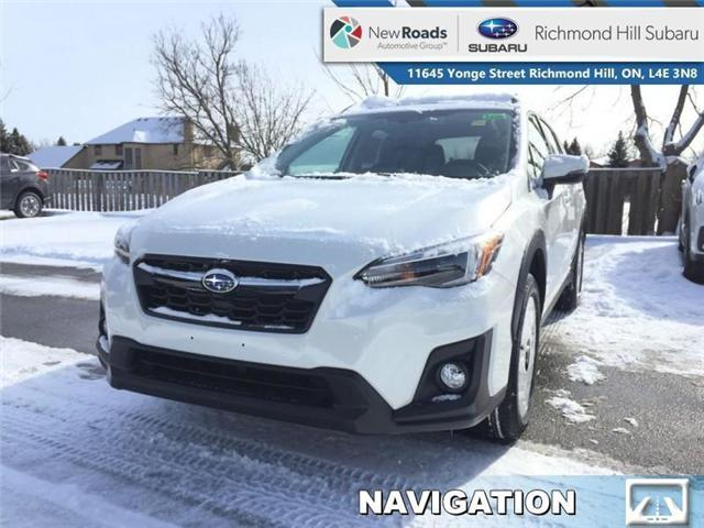 2019 Subaru Crosstrek Limited CVT w/EyeSight Pkg (Stk: 32423) in RICHMOND HILL - Image 1 of 19