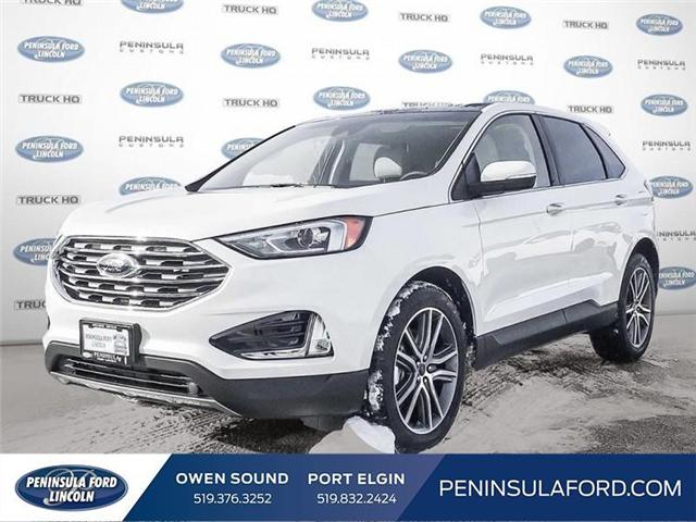 2019 Ford Edge Titanium (Stk: 19ED22) in Owen Sound - Image 1 of 23