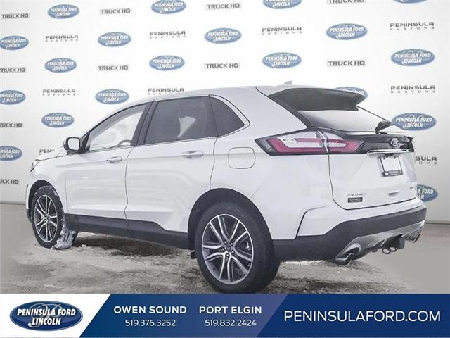 2019 Ford Edge Titanium (Stk: 19ED22) in Owen Sound - Image 4 of 23