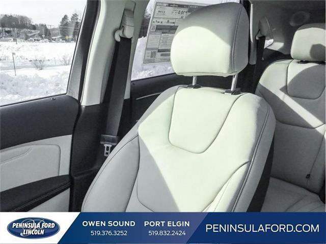 2019 Ford Edge Titanium (Stk: 19ED22) in Owen Sound - Image 18 of 23