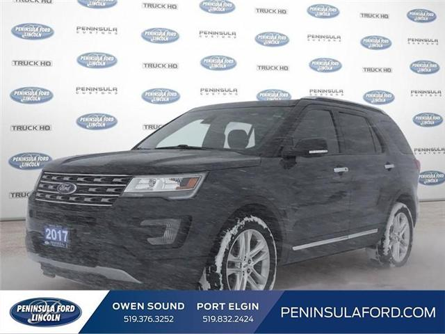 2017 Ford Explorer Limited (Stk: 1674A) in Owen Sound - Image 1 of 23